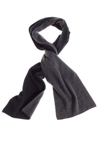 RIONE FONTANA Sciarpa in cashmere colore nero per uomo autunno inverno 14-15