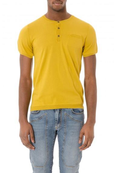 T-shirt senape in cotone per uomo P/E 2015 RETOIS