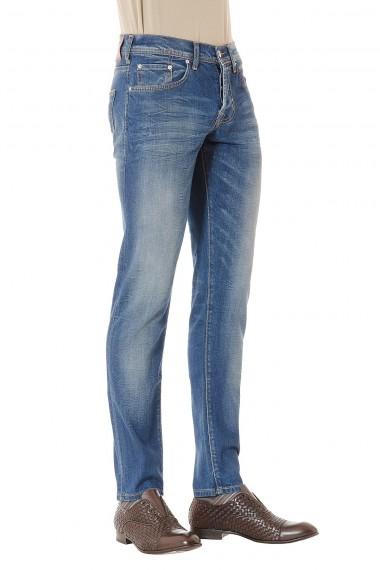 BRIAN DALES Jeans denim effetto lavato per uomo P/E 2015