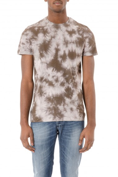 PAOLO PECORA T-shirt blu e bianca per uomo P/E 2015