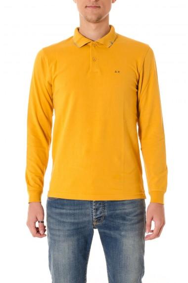 Polo per uomo SUN 68 colore giallo A/I 16-17