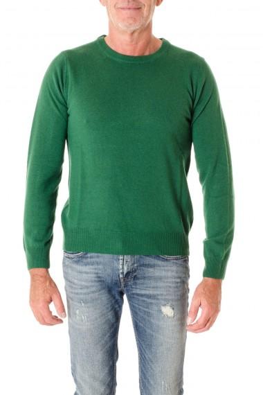 RIONE FONTANA Maglia a girocollo di colore verde A/I 16-17 per uomo