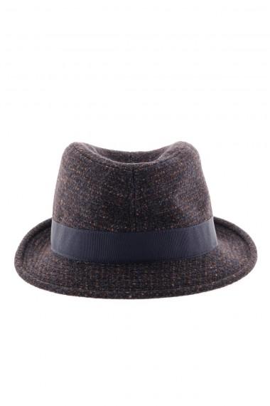 A/I 16-17 Cappello con bordo blu per uomo TAGLIATORE