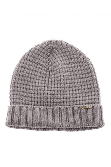 Berretto in lana con risvolto A/I 16-17 grigio BARK