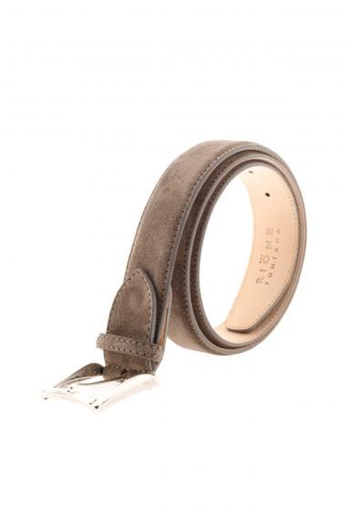 RIONE FONTANA Cintura marrone chiaro in vera pelle per uomo A/I 16-17