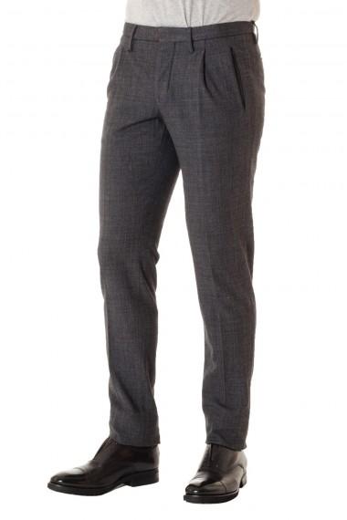 Pantaloni uomo INCOTEX color asfalto A/I 16-17