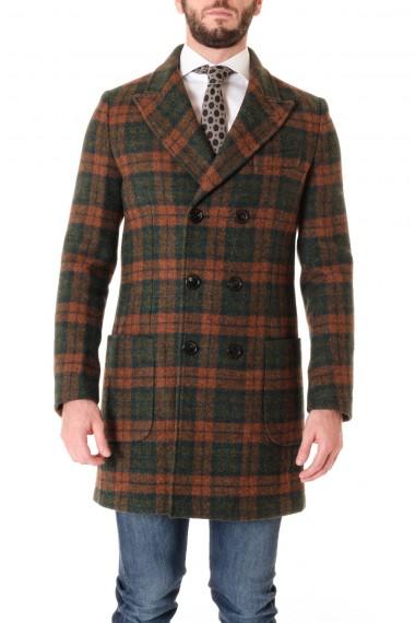 Cappotto per uomo A/I 16-17 PALTO' verde/ruggine PINO 16 CLAN
