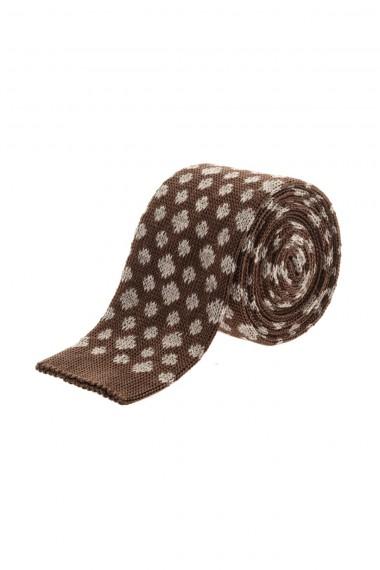 Cravatta marrone RIONE FONTANA per uomo A/I 16-17