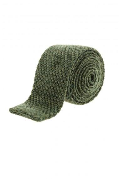 A/I 16-17 Cravatta in lana per uomo FRANCO BASSI verde