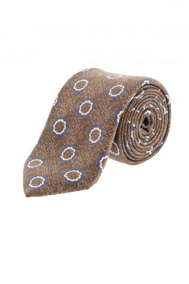 FRANCO BASSI Cravatta marrone chiaro A/I 16-17 per uomo