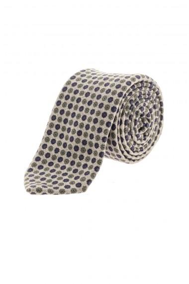 A/I 16-17 FRANCO BASSI Cravatta a fiori per uomo
