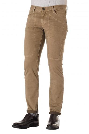 Pantaloni uomo JECKERSON nocciola A/I 16-17