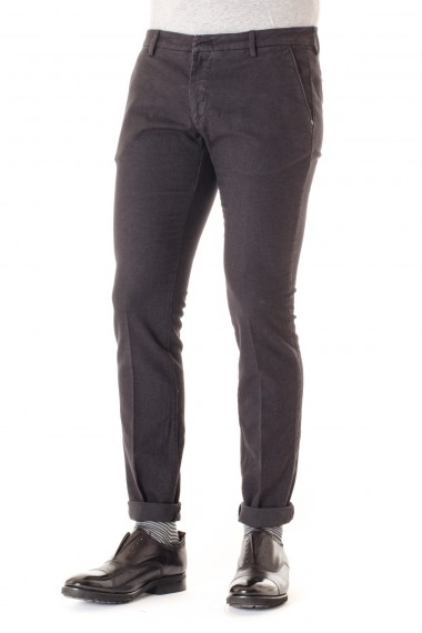MICHAEL COAL Pantalone uomo color piombo  A/I 16-17