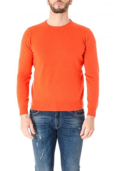 Maglia a girocollo arancione RIONE FONTANA per uomo A/I 16-17