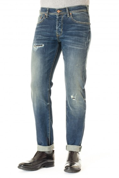 A/I 16-17 Jeans uomo BRIAN DALES denim con strappi