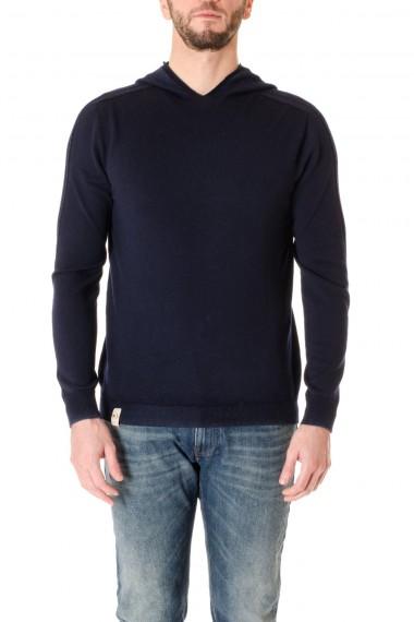 Maglia uomo H953 blu in lana A/I 16-17