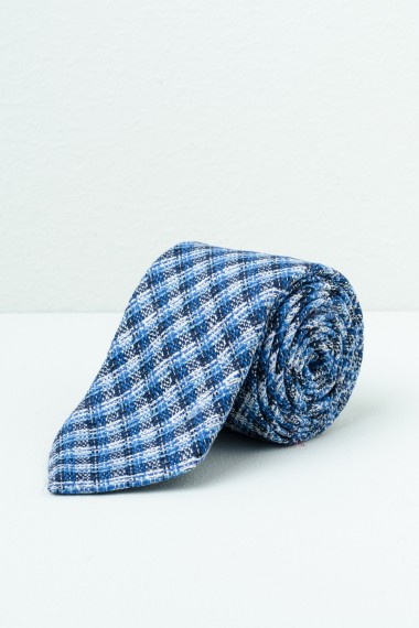 Cravatta FRANCO BASSI blu/azzurro/bianco P/E17