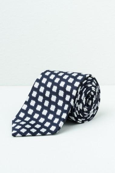 Cravatta RODA blu/bianco P/E17