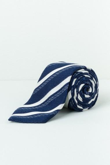 Cravatta RODA blu / bianco P/E17
