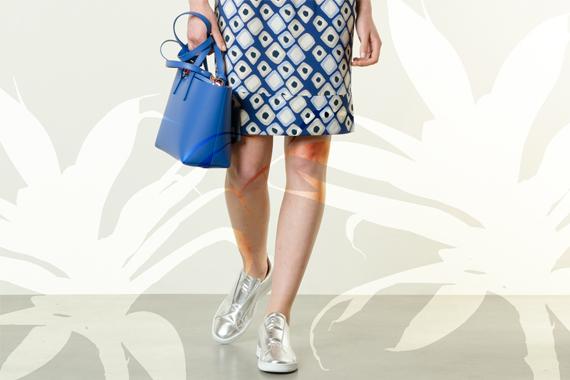 Look 118 - Colors Explosion - LIS.LAB giacca, ALPHA abito, REBELLE borsa, DONDUP scarpe