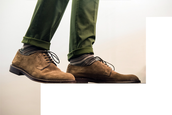 Scarpe DOUCAL'S, pantaloni MICHAEL COAL