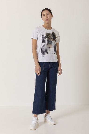 T-shirt for woman IN BED WITH YOU S/S 21