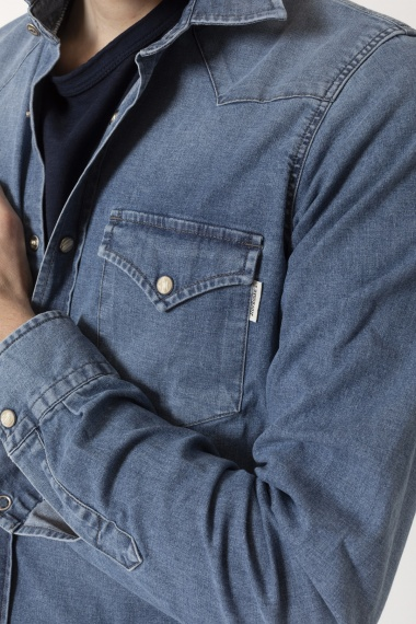 Camicia per uomo ROY ROGERS' P/E 21