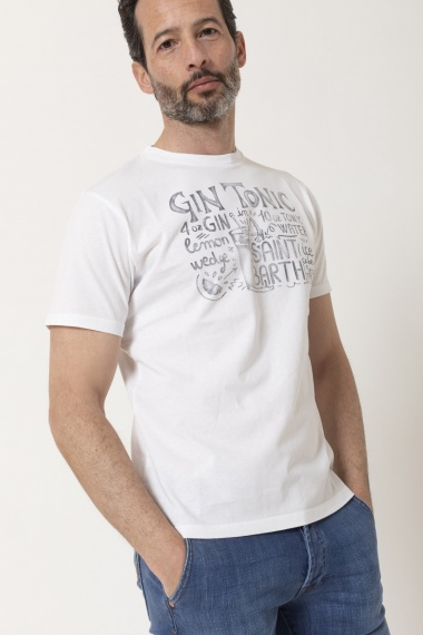 T-shirt for man MC2 SAINT BARTH S/S 21
