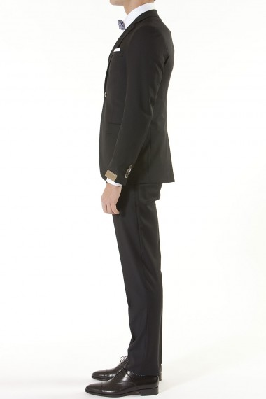 RIONE FONTANA Black suit for men spring summer