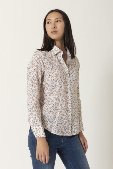 Shirt for woman BASTONCINO S/S 21