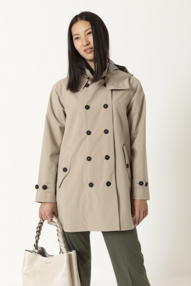 Trench for woman SAVE THE DUCK S/S 21