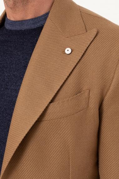 L.B.M. 1911 giacca cotone e lana color cammello