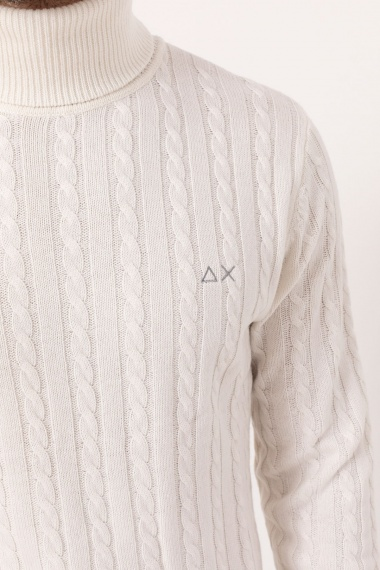 Roll-neck pullover for man SUN68