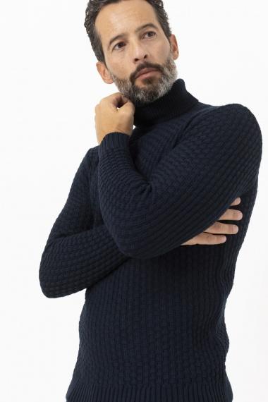Roll-neck pullover for man LUCA BERTELLI