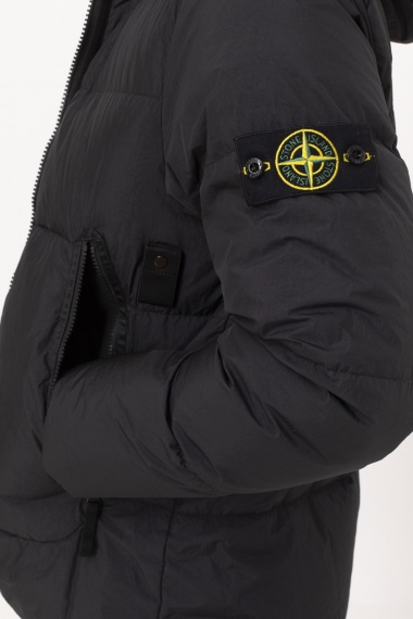 40123 Garment Dyed Crinkle Reps NY Down-TC STONE ISLAND