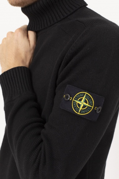 Roll-neck pullover for man STONE ISLAND