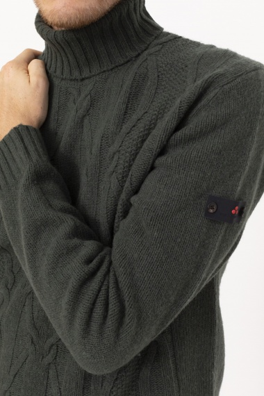 Roll-neck pullover for man PEUTEREY