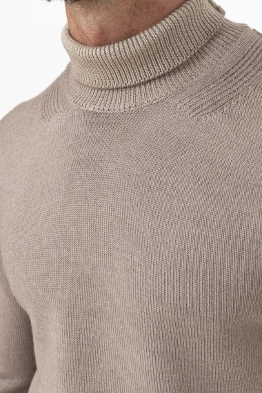 Roll-neck pullover for man PAOLO PECORA