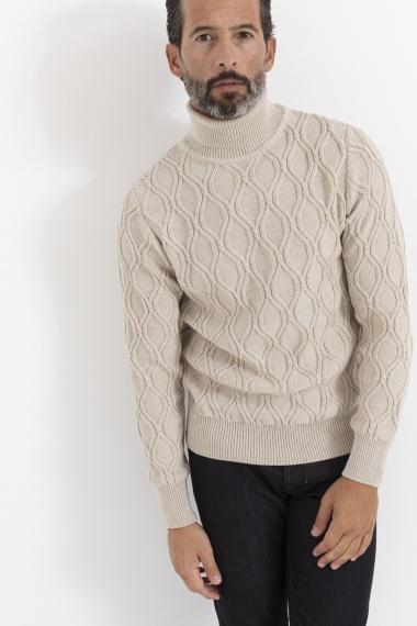 Roll-neck pullover for man LARDINI