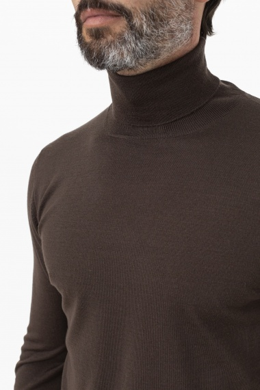 Roll-neck pullover for man INDUSTRIE