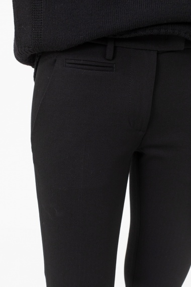 Black trousers for woman DONDUP F/W 21-22
