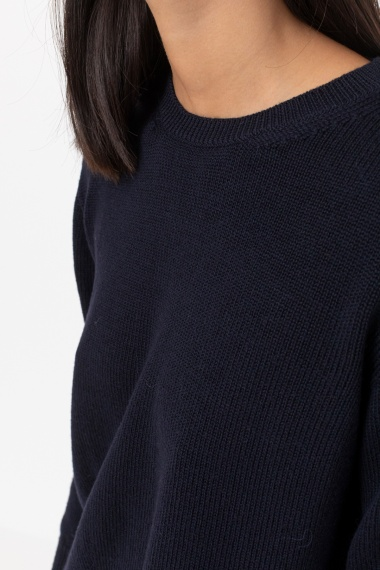 Blue pullover for woman ALPHA F/W 21-22