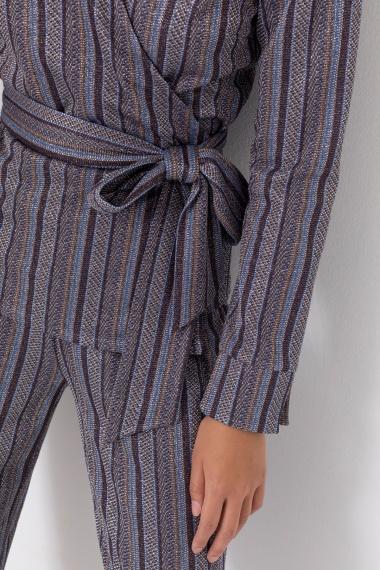 Striped jacket for woman CAMICETTASNOB F/W 21-22