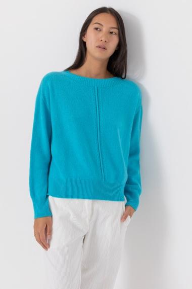 Light blue pullover VANISE' F/W 21-22