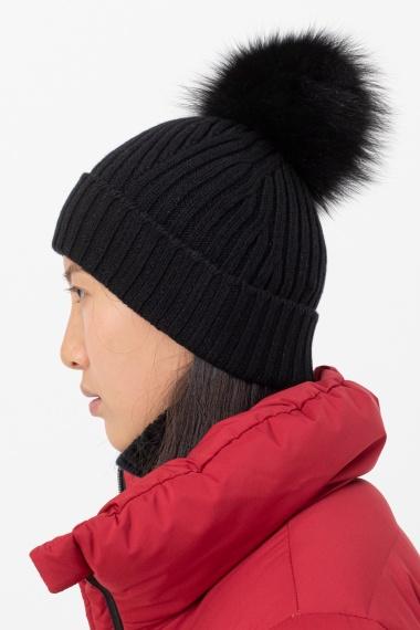 Black cap for woman VANISE' F/W 21-22