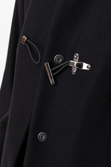 Black Toggle Coat for woman FAY F/W 21-22
