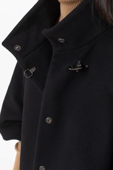 Black cape for woman FAY F/W 21-22