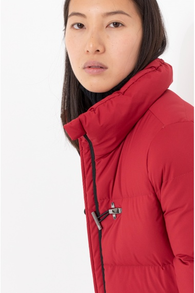 Red down jacket for woman FAY F/W 21-22