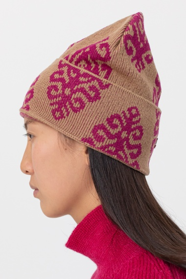 Brown cap for woman DONDUP F/W 21-22