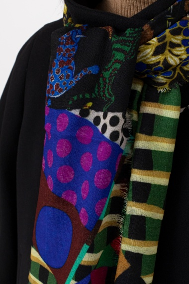 Multicolor scarf for woman IN BED WITH YOU F/W 21-22